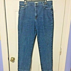 Lee Size 14 Womens Jeans Relaxed Straight Leg Mom